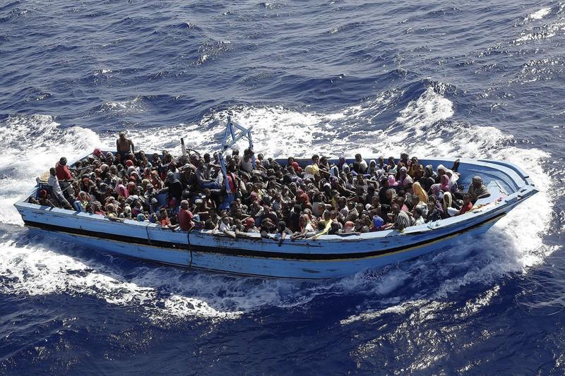 Chiến tranh đã khiến hàng triệu người châu Phi, Trung Đông bất chấp rủi ro tìm đường sang châu Âu tị nạn.