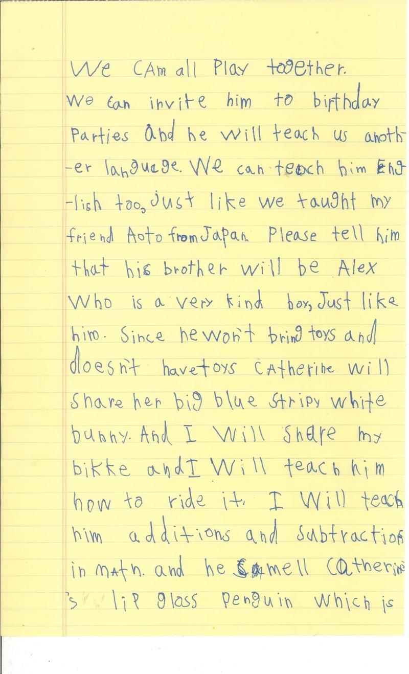 Cậu bé 6 tuổi xin Obama cho nhận nuôi em bé Syria - ảnh 3