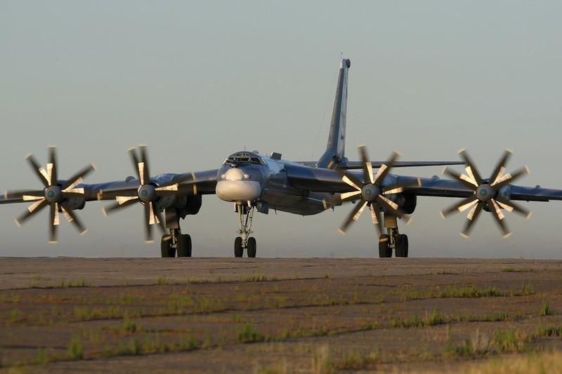 Máy bay ném bom Tu-95MS của Nga sẽ tuần tra tam giác Nhật – Hawaii- đảo Guam.