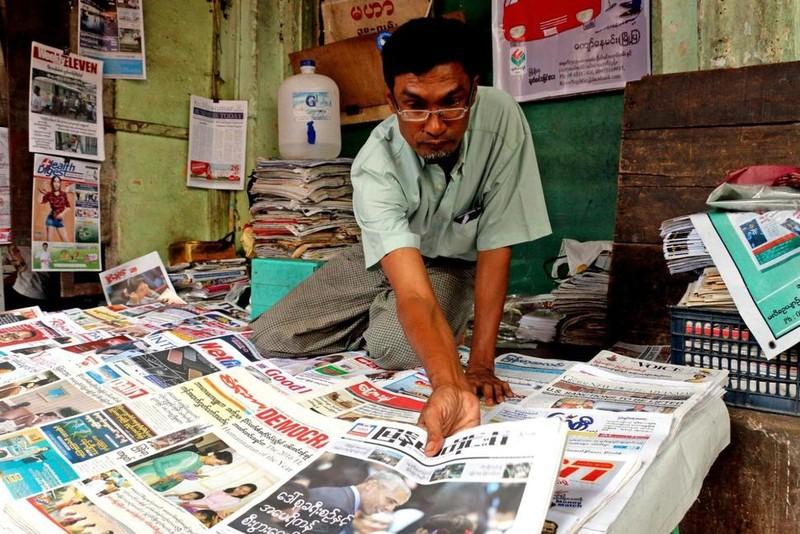 Việc Mỹ chính thức dỡ bỏ trừng phạt đối với Myanmar sẽ cải thiện đáng kể kinh tế Myanmar cũng như quan hệ hai nước. Ảnh: USNEWS
