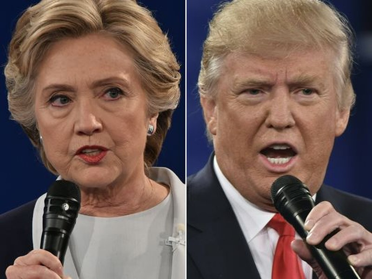 Bà Clinton được cho là sẽ thắng lớn ông Trump, hơn hẳn chiến thắng của ông Obama với ông Romney năm 2012.