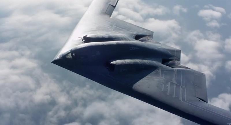 Máy bay ném bom B-2 của Mỹ.