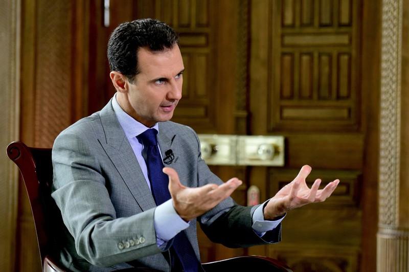 Tổng thống Syria Basher al-Assad trong một cuộc trả lời phỏng vấn một tờ báo Nga tháng trước.