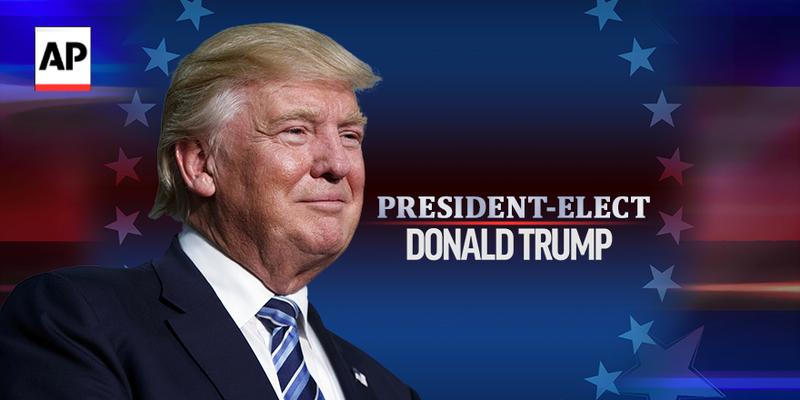 Chính thức: Thắng áp đảo, Trump thành tổng thống Mỹ! - ảnh 1