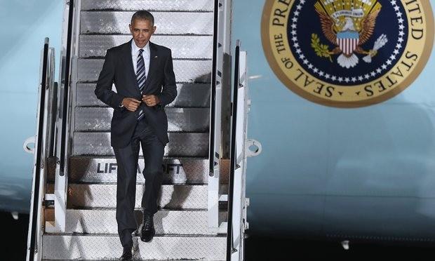 Tổng thống Obama đến Berlin (Đức) ngày 16-11.