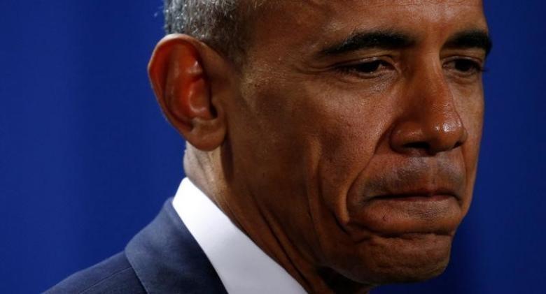 Tổng thống Obama trong cuộc họp báo tại Đức, không phản đối biểu tình chống Trump.
