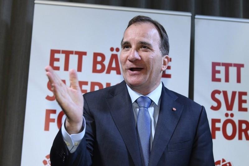 Thủ tướng Thụy Điển Stefan Lofven.