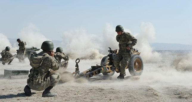 Binh sĩ Thổ Nhĩ Kỳ tham gia chiến dịch Lá chắn Euphrates tại Syria. Ảnh: AFP
