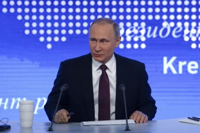Tổng thống Nga Vladimir Putin đang được dân Nga tín nhiệm cao. Ảnh: REUTERS