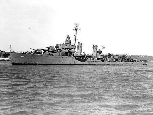 Tàu USS Cassin sau khi được sửa chữa. Ảnh: THE DRIVE