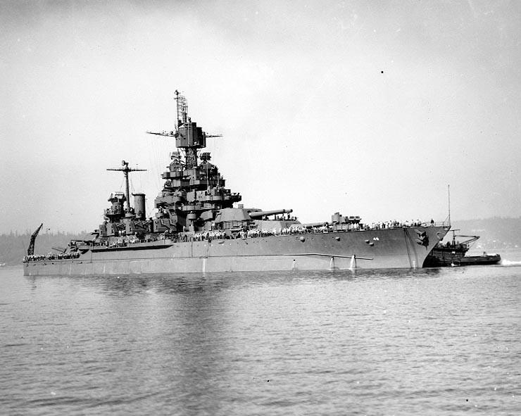 USS Maryland hoạt động lại chỉ sau 2 tháng sửa chữa. Ảnh: THE DRIVE