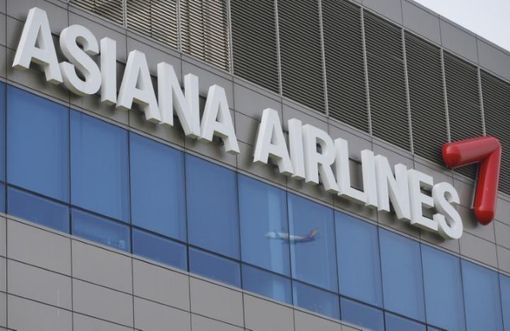 Asiana Airlines là một trong những hãng hàng không Hàn Quốc bị Trung Quốc từ chối tăng chuyến khai thác. Ảnh REUTERS