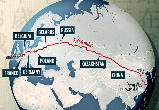 Cuộc hành trình dài tới 12.000 km và đi qua 9 quốc gia. Ảnh: DAILY MAIL