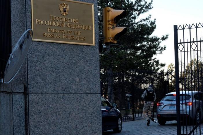 Đại sứ quán Nga tại Washington (Mỹ). Ảnh: REUTERS