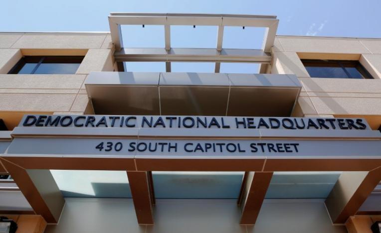 Trụ sở đảng Dân chủ ở Washington (Mỹ). Ảnh: REUTERS