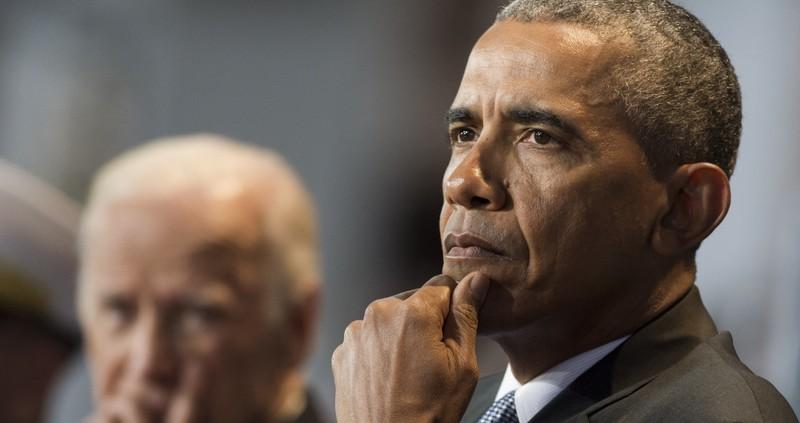 Tổng thống Obama nói ông có niềm tin tuyệt đối vào kết luận của cộng đồng tình báo về vụ Nga tấn công mạng. Ảnh: GETTY IMAGES