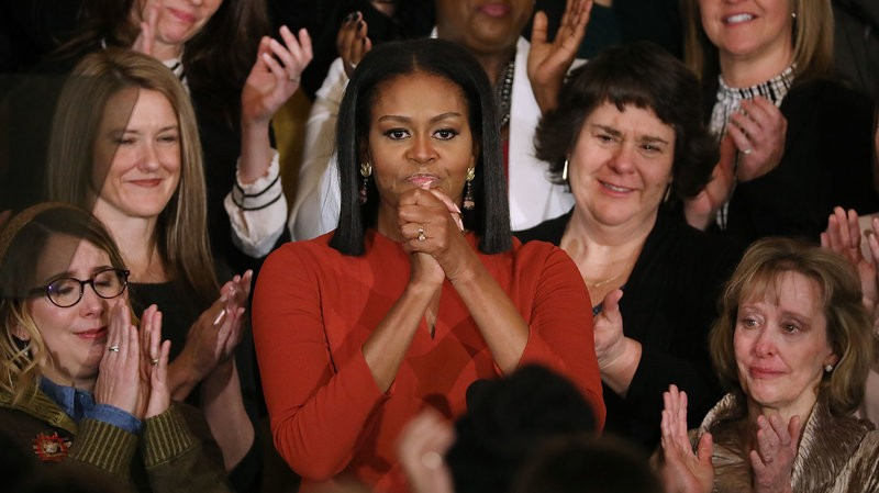 Đệ nhất phu nhân Mỹ Michelle Obama đề cao sự đa dạng trong văn hóa, tín ngưỡng, sắc dân ở Mỹ. Ảnh: GETTY IMAGES