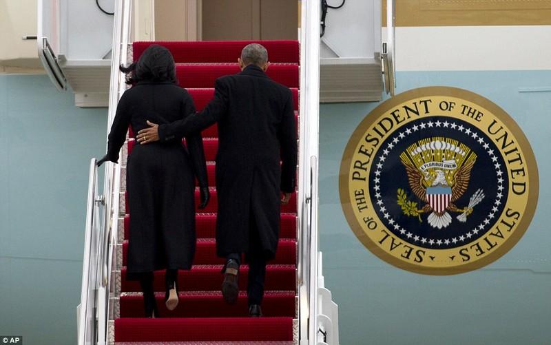 Lần cuối Tổng thống Obama bay trên chiếc Không lực Một - ảnh 2