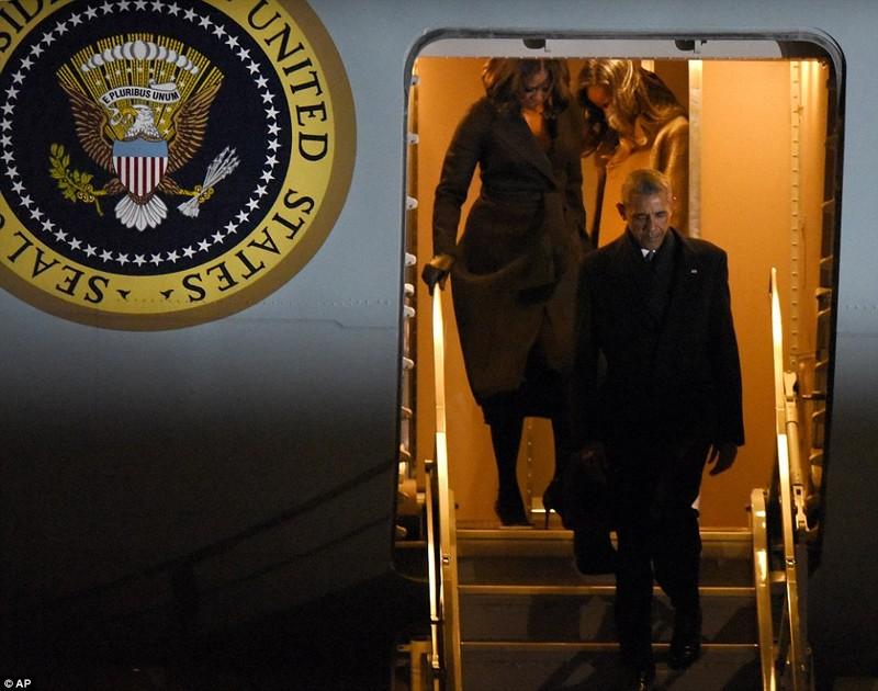 Lần cuối Tổng thống Obama bay trên chiếc Không lực Một - ảnh 4