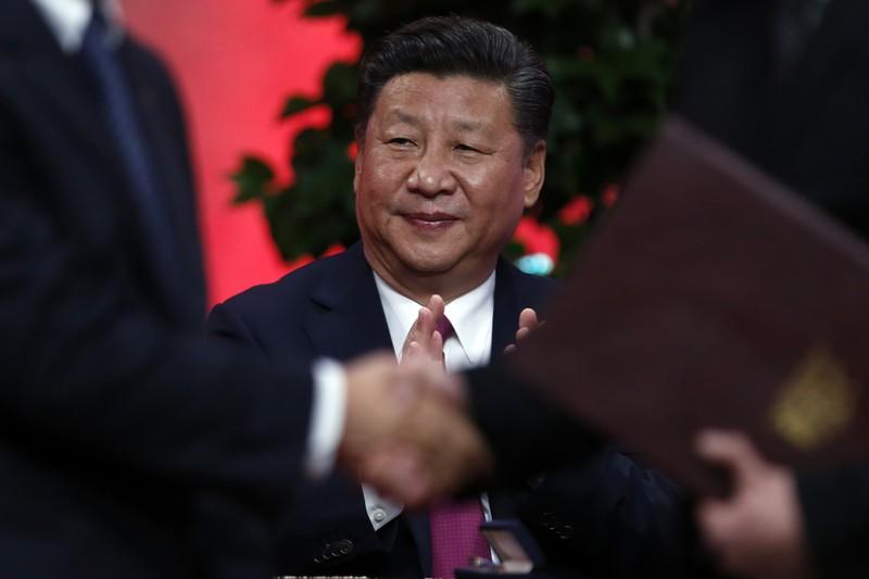 Chủ tịch Trung Quốc đầu tiên tham gia lần đầu tham gia WEF (Davos, Thụy Sĩ). Ảnh: AP