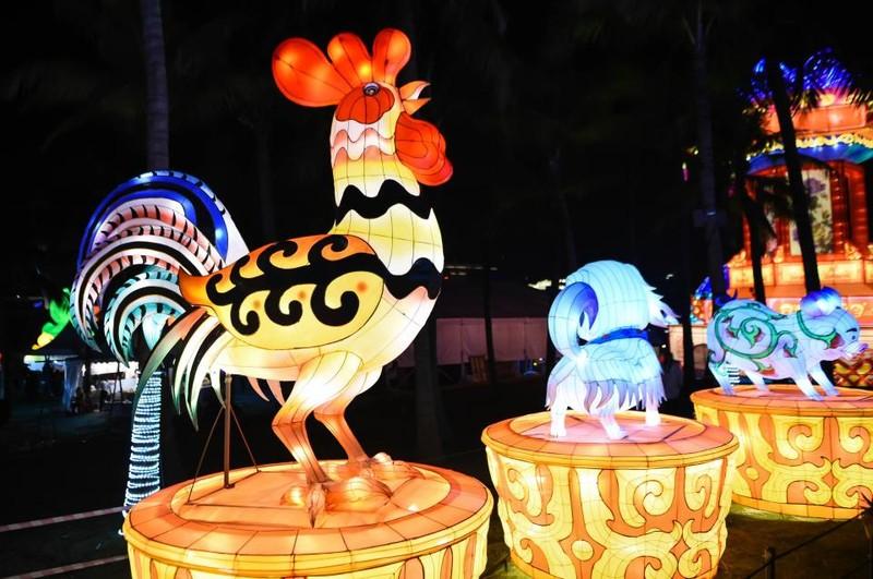 Người Trung Quốc đặt tên cho Tết mỗi năm theo 12 con giáp. Năm nay, 2017, là năm con Gà. Ảnh: GETTY IMAGES