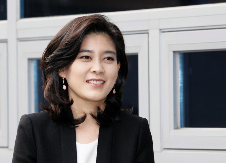 Bà Lee Boo-jin, con gái Chủ tịch Samsung Electronics, em gái Thái tử Samsung Lee Jae-yong,
