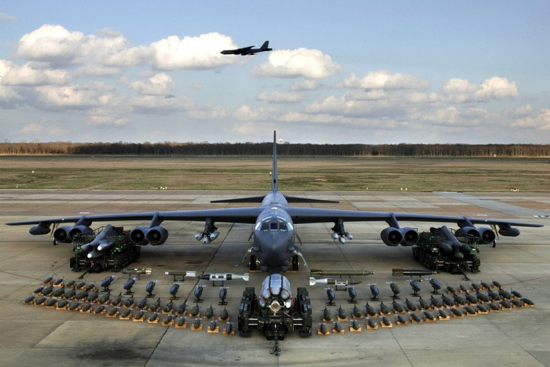 Máy bay ném bom B-52 của Mỹ. Ảnh: NATIONAL INTEREST