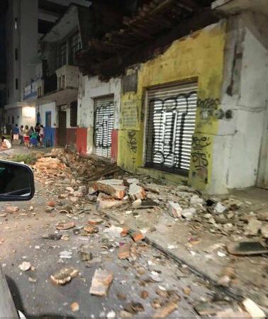 Động đất cực mạnh nhưng kỳ diệu là báo cáo ban đầu cho thấy thương vong và thiệt hại không nhiều. Ảnh: TWITTER
