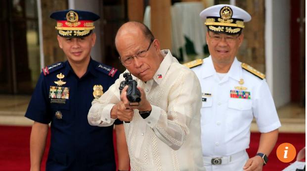 Súng trường M4 của Trung Quốc sẽ được trang bị cho cảnh sát Philippines. Ảnh: SCMP