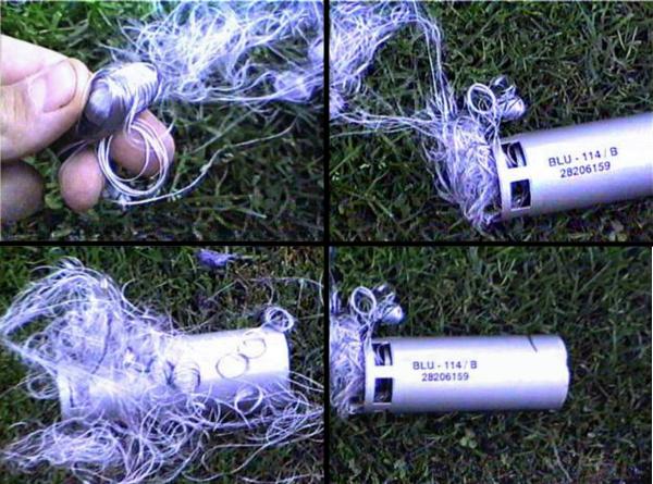 Bom than chì được Mỹ sử dụng đầu tiên tại Iraq. Ảnh: REFORMY