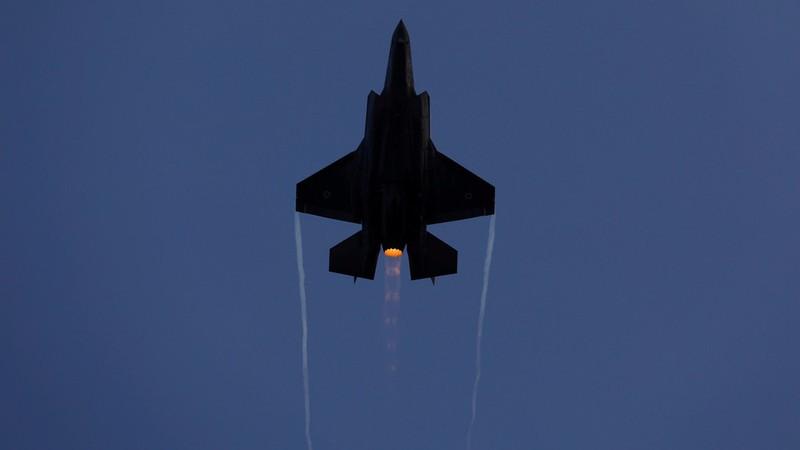 Máy bay chiến đấu F-35 của Israel. Ảnh: REUTERS