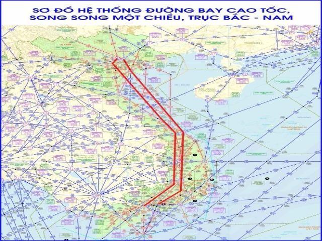 """Rút ngắn thời gian với  """"đường bay cao tốc một chiều trục Bắc-Nam""""  - ảnh 1"""