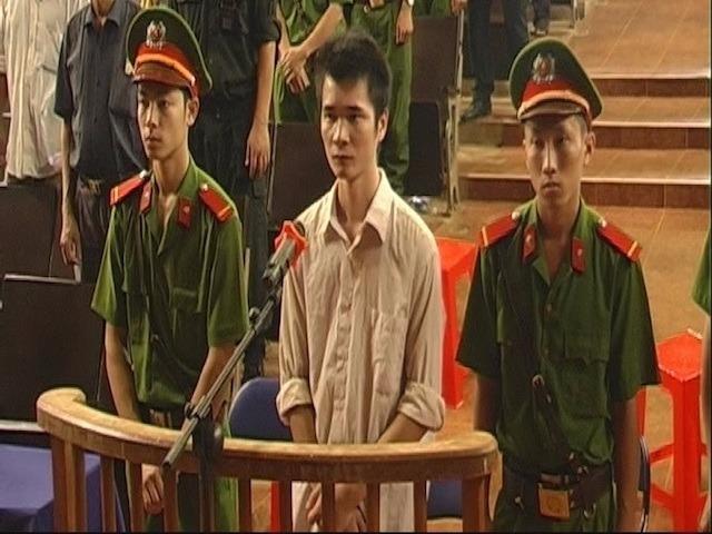 Lê Hữu Kha tại phiên tòa