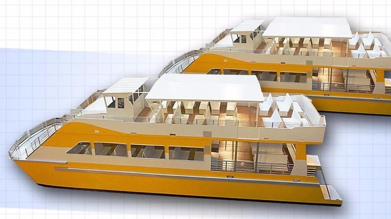 Từ 25-11, buýt đường sông số 1 vận hành chính thức - ảnh 1