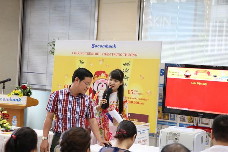 Sacombank rút thăm may mắn đợt hai - ảnh 1
