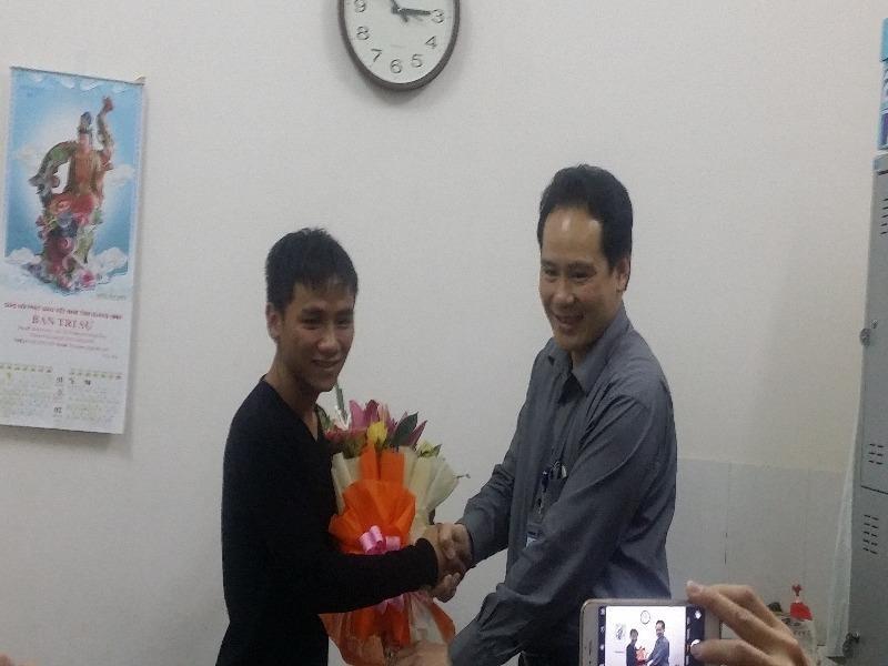 Bất ngờ chàng trai đạp xe xuyên Việt vận động hiến tạng - ảnh 1