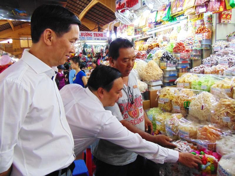 Thực phẩm bán tại chợ Bến Thành phải rõ nguồn gốc - ảnh 1