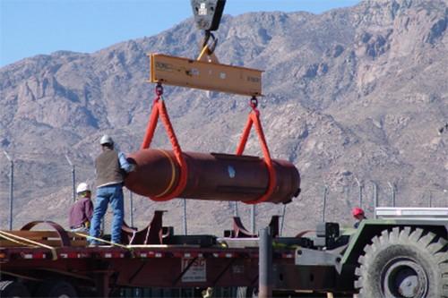 Mỹ thử thành công bom xuyên phá bongke hạng nặng nâng cấp - ảnh 1