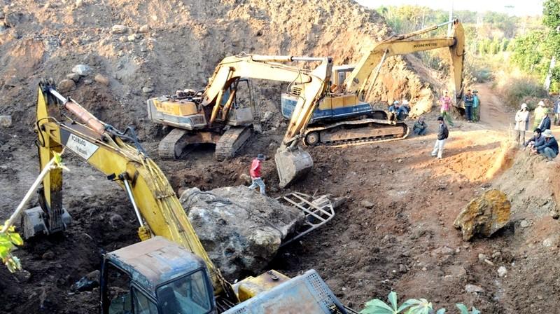 Vụ bắt giữ hòn đá 30 tấn: Đề xuất tịch thu, phạt người khai thác 1 tỉ đồng - ảnh 4