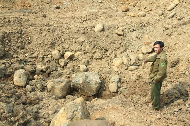Vụ bắt giữ hòn đá 30 tấn: Đề xuất tịch thu, phạt người khai thác 1 tỉ đồng - ảnh 3