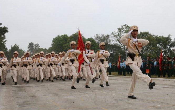 Hợp duyệt diễu binh kỉ niệm ngày 30-4 - ảnh 3