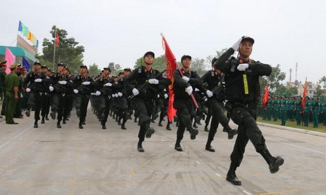 Hợp duyệt diễu binh kỉ niệm ngày 30-4 - ảnh 4