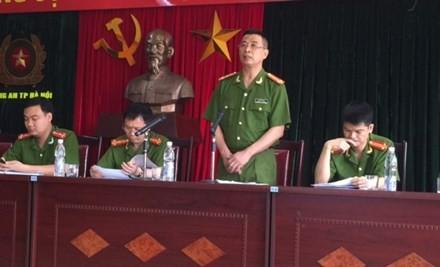 Ông Lê Hồng Sơn cung cấp thông tin vụ việc