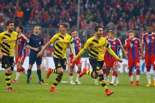 Dortmund phá giấc mơ ăn ba của Bayern Munich - ảnh 1