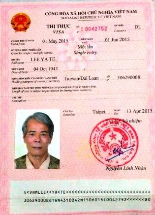 Khởi tố 'chú rể Đài Loan' qua Việt Nam sát hại vợ - ảnh 1