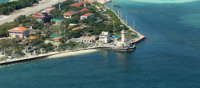 Ngắm toàn cảnh đảo Trường Sa lớn từ thủy phi cơ - ảnh 3