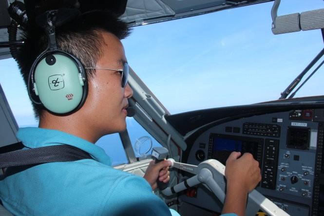 Ngắm toàn cảnh đảo Trường Sa lớn từ thủy phi cơ - ảnh 7