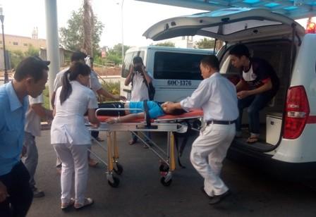 Đồng Nai: Hơn 40 công nhân bị ngộ độc khí phải cấp cứu - ảnh 3
