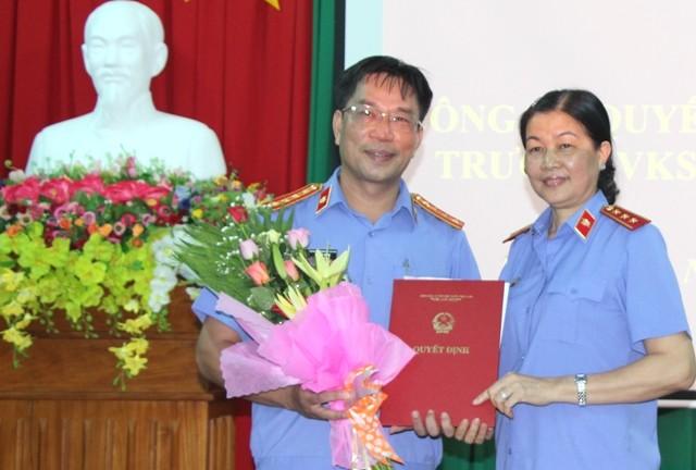 Bổ nhiệm Viện trưởng VKS tỉnh Bình Phước - ảnh 1