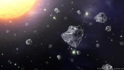 """""""Mưa"""" kim cương xuất hiện sau khi thiên thạch rơi xuống Trái Đất - ảnh 1"""